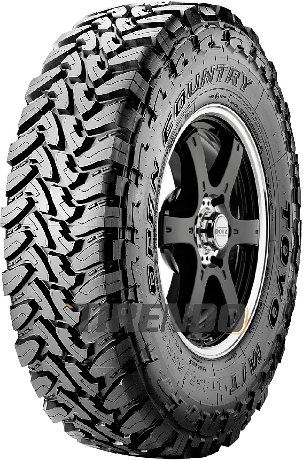 Toyo Open Country M/T  LT315/75R16 121P