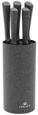 Gerlach Smart Granit Zestaw 5 noży w bloku  