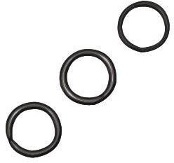 Ogniwko, 7/1 mm, czarne, op. 40 szt. [21-241-01] 21-241-01