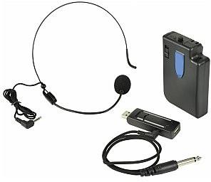 QTX U-MIC-864.8-N Mikrofon nagłowny bezprzewodowy USB UHF 864.8MHz 171.809UK