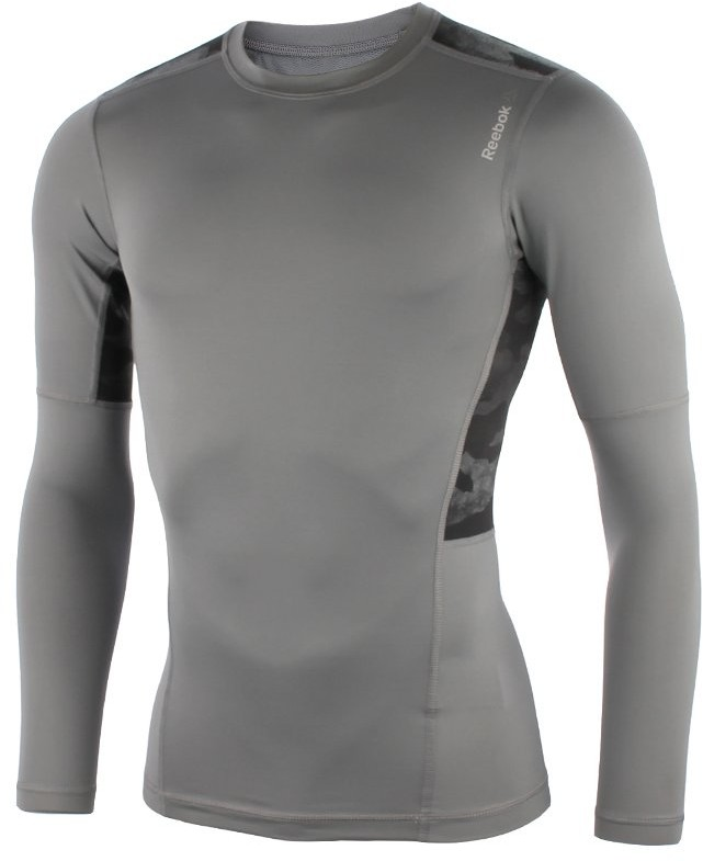 Reebok koszulka sportowa męska REEBOK WORKOUT READY COMPRESSION LONGSLEEVE / AJ3039 FUR-233/L