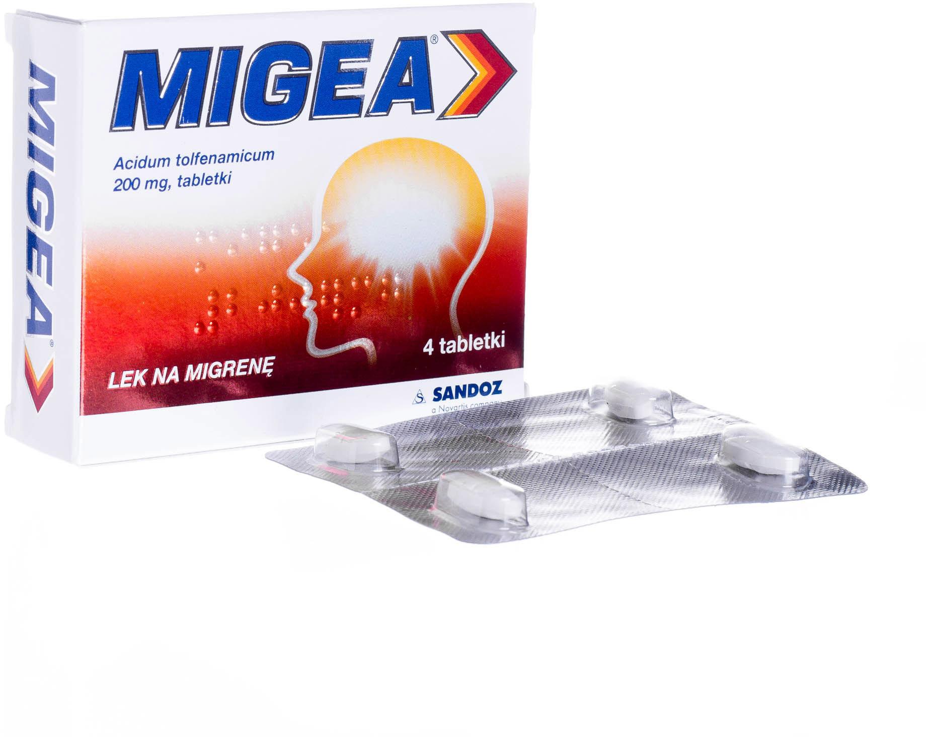Sandoz MIGEA 200 mg 4 szt.