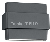 Trio T R I O Kinkiet PADMA LED czarny 227160242