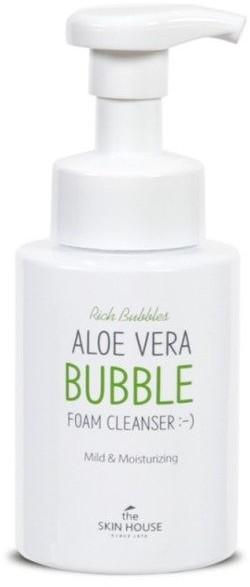 THE SKIN HOUSE Aloe Vera BUBBLE Foam Oczyszczająca pianka do mycia twarzy 300m