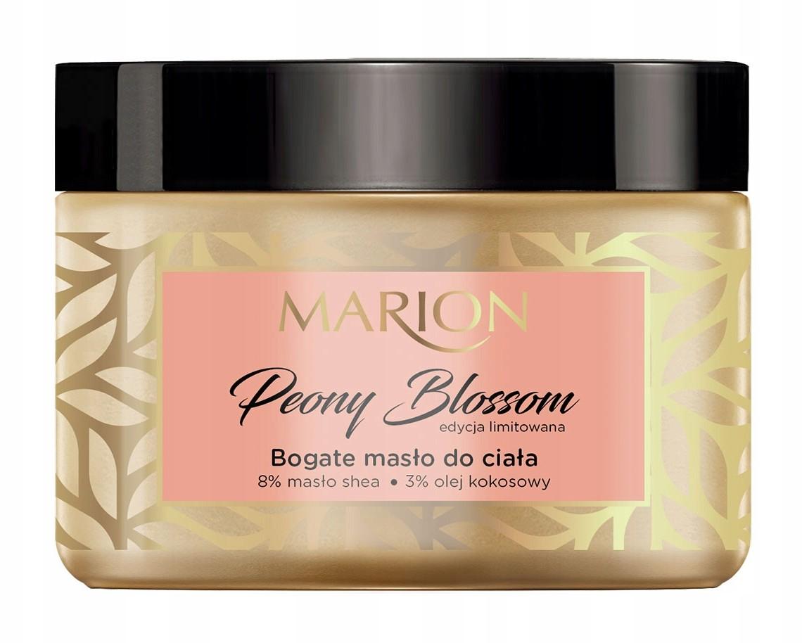Marion Bogate masło do ciała Peony Blossom 420ml