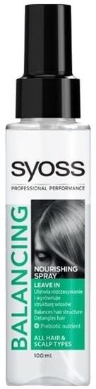Syoss Balancing nourishing spray do włosów 100ml