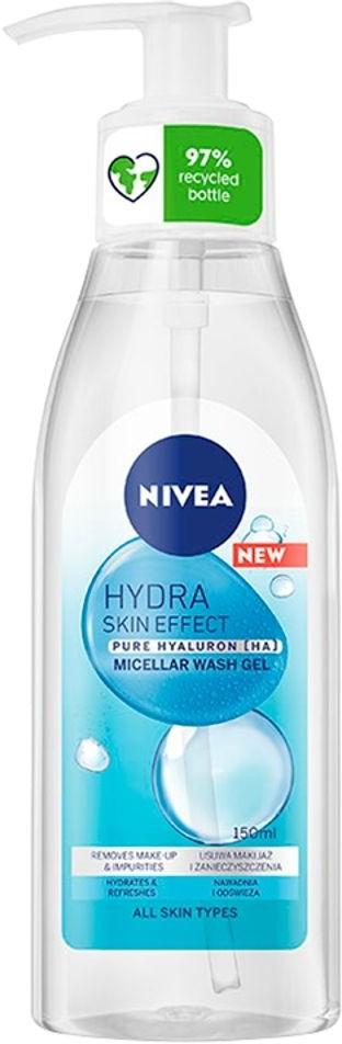 Nivea Nivea Hydra Skin Micelar Wash Gel 150ml żel micelarny do twarzy