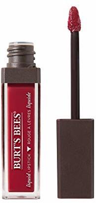 Burt's Bees Liquid pomadka do ust, 100% naturalna pielęgnacja z intensywnym kolorem, Drenched Dahlia - 1 tubka, 5,95 g