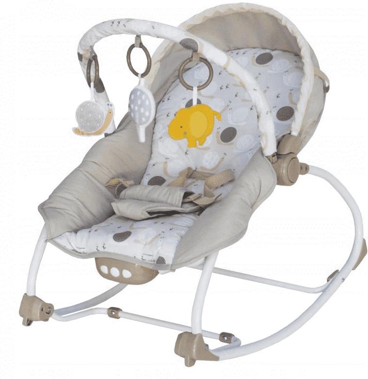 Baby mix Leżaczek niemowlęcy, beżowy
