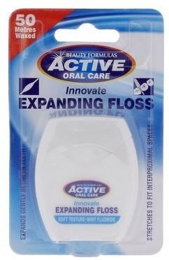 Active Nić dentystyczna Active Mięta fluor 50 ml Beauty Formulas OD 24,99zł