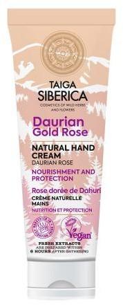 Natura Siberica Krem do rąk i paznokci z różą dahurską Odżywianie 75 ml M00-B408-580D7