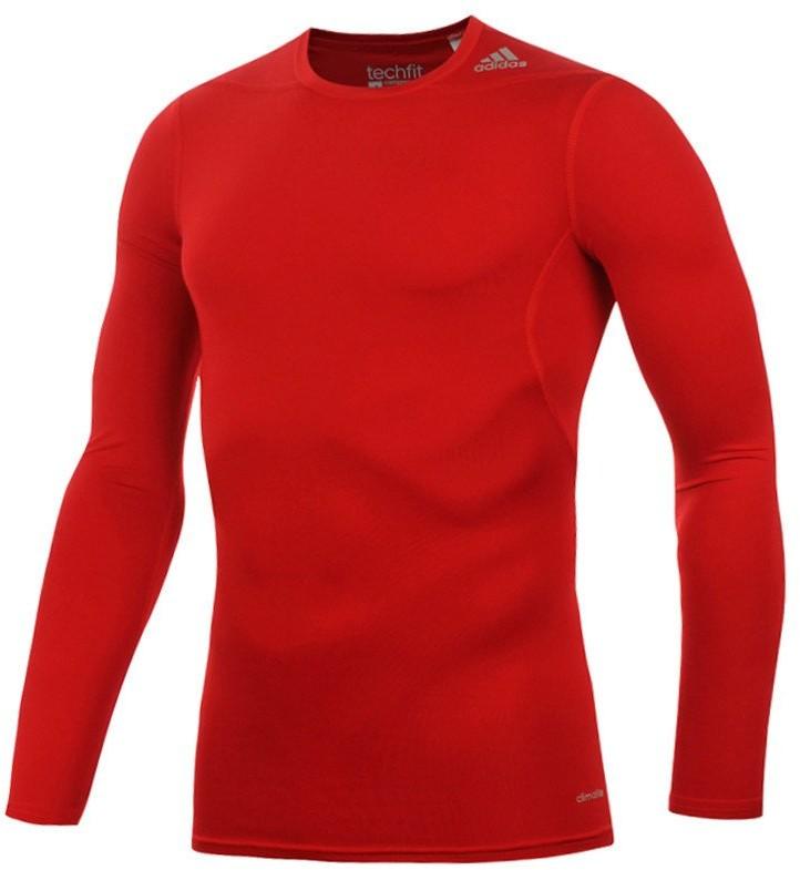adidas koszulka termoaktywna męska ADIDAS TECHFIT BASE LONGSLEEVE / D82061 FUA-428/XXL