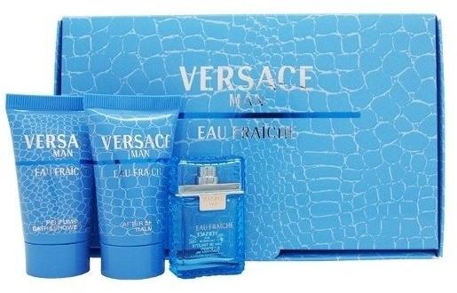 Versace Men Eau Fraiche EDT 5ml + SG 25ml + ASB 25ml 19252-uniw