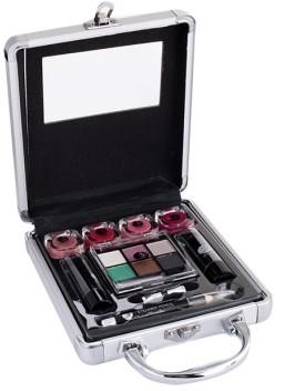 2K 2K Beauty Basic Train Case zestaw Paletka do makijażu dla kobiet