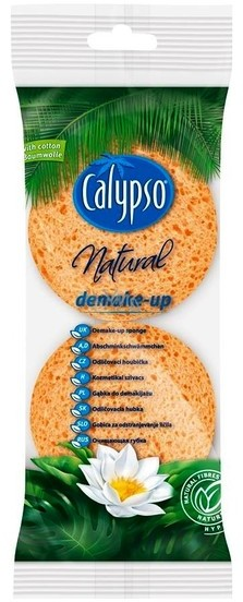 Calypso Calypso Natural Demake Up Celulozowe Płatki Do Demakijażu 2 szt