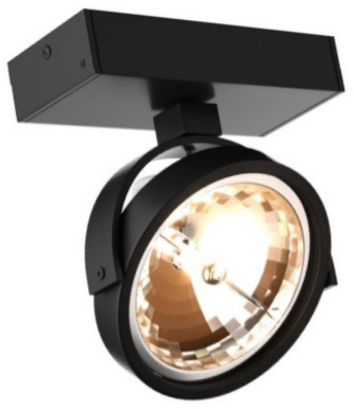 Light Prestige Romeone 1 czarne kinkiet LP-2113/1W BK