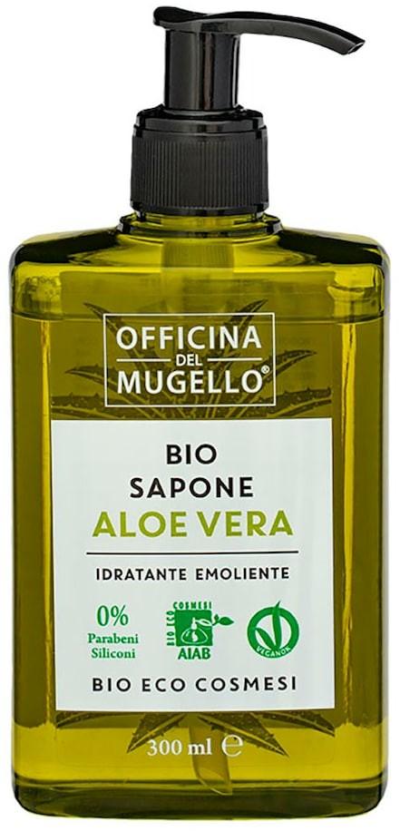 Bio Officina Del Mugello Officina Del Mugello Eco Aloe Vera Mydło do rąk 300 ml