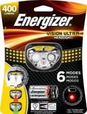 Energizer latarka czołowa Vision ULTRA 3AAA 3led 400 lumens LAT52