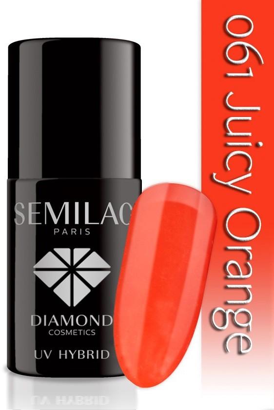 Semilac Lakier Hybrydowy Semilac 061 Juicy Orange - 7 Ml 4778