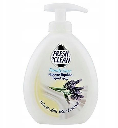 Fresh Clean Jedwab i Lawenda mydło w płynie