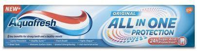 GlaxoSmithKline Aquafresh All In One Protection Original pasta do zębów 100 ml 1141029
