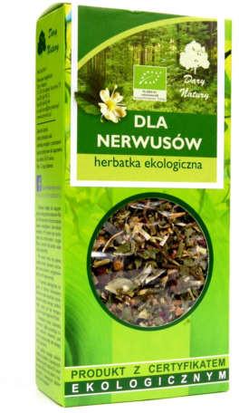 Dary Natury HERBATKA DLA NERWUSÓW BIO 50 g -