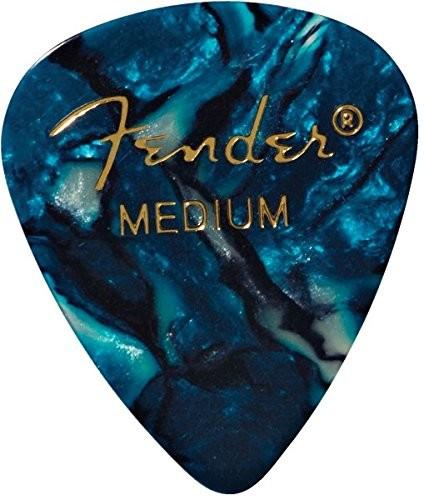 Fender 351 Shape kostki gitarowe premium (12 sztuk) do gitary elektrycznej, akustycznej, mandoliny i basów