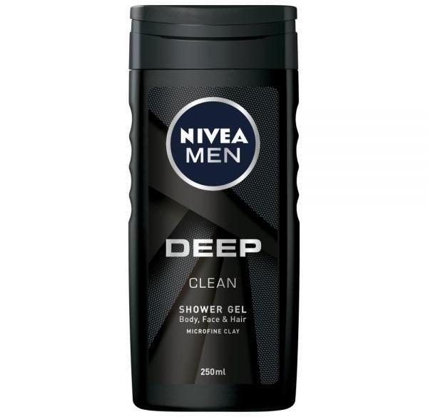 Nivea Żel pod prysznic Men Deep 250 ml