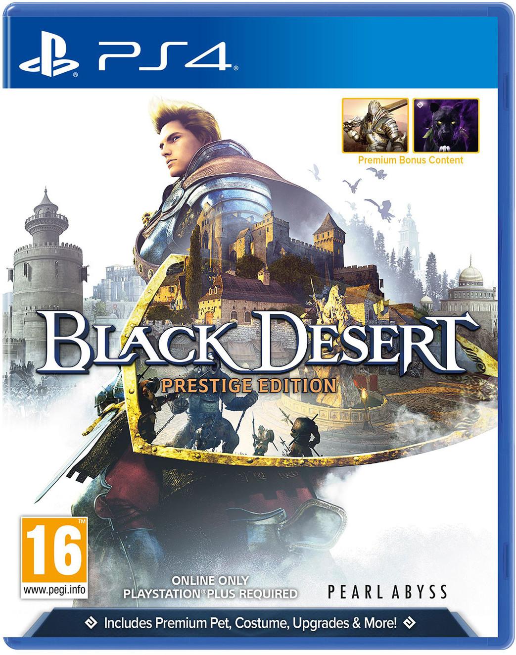 Black Desert - Prestige Edition (GRA PS4)