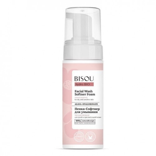 Gridem BISOU Bio Hydro Nawilżająca pianka do mycia twarzy do skóry suchej i wrażliwej 150 ml