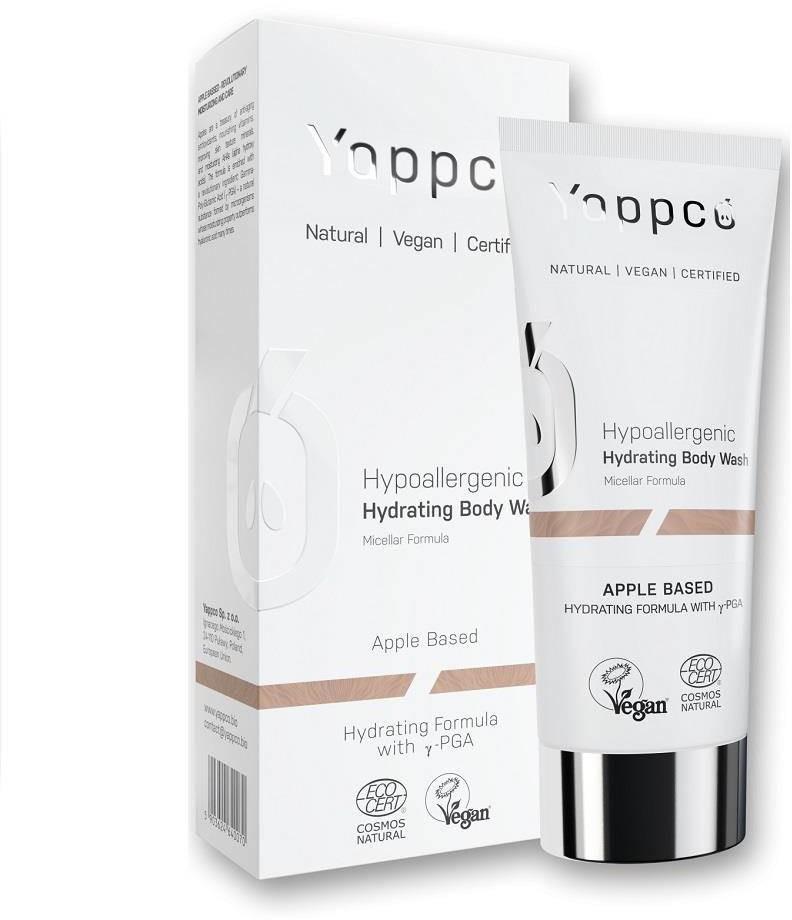 YAPPCO Hypoallergenic Micellar Body Wash hipoalergiczny nawilżający żel pod prysznic Formuła Micelarna 200ml 94674-uniw