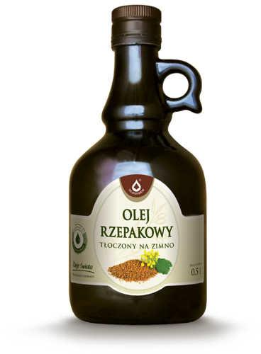 Oleofarm Olej rzepakowy 500ml