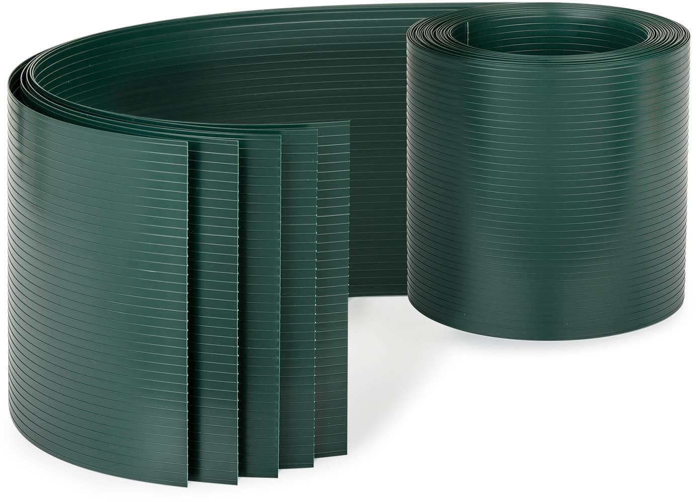 Blumfeldt Blumfeldt Ogrodzeniowa osłona maskująca, PCW  twardy plastik, 2,53 x 0,19 m PVC5 Grün