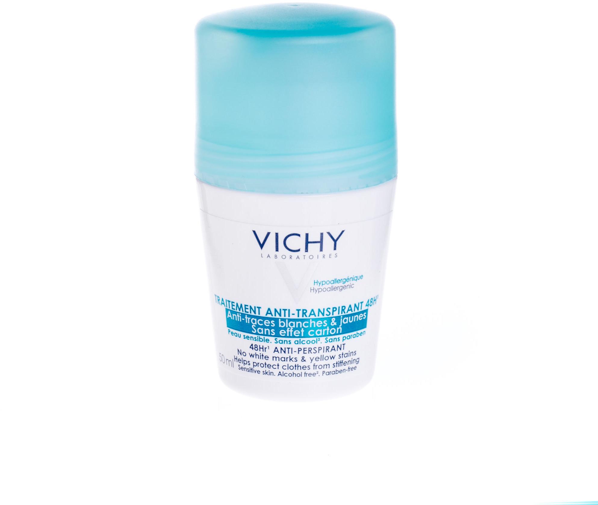 Vichy LOREAL POLSKA DEO Dezodorant antyperspirant zapobiegający powstawaniu biał