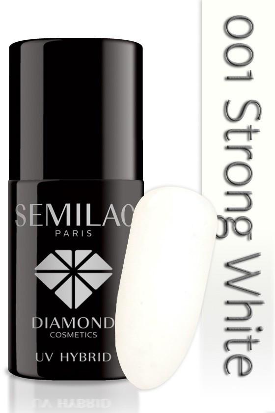 Semilac Lakier Hybrydowy Semilac 001 Strong White - 7 Ml 4714