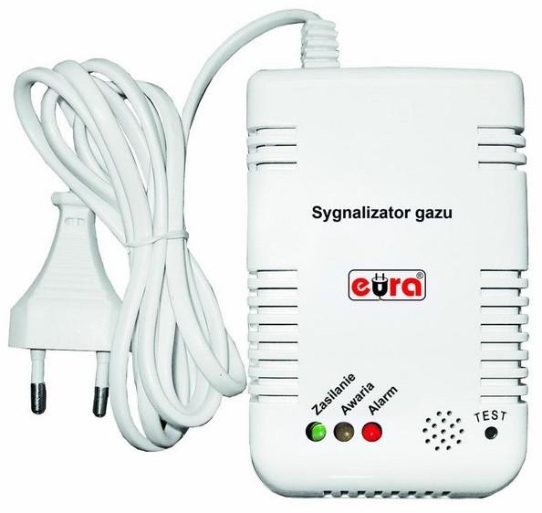 Eura EURA_TECH Sygnalizator gazu TECH GD-00A2
