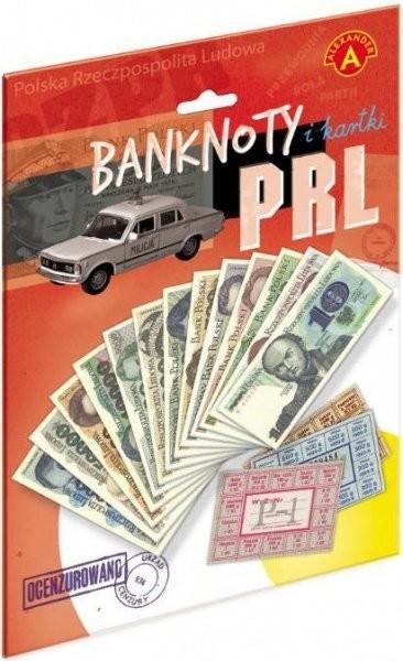 Alexander banknoty i kartki PRL