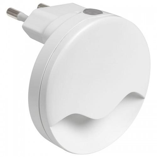 Rabalux Lily LED 0,3W z czujnikiem zmierzchu 3000K Lampka wtykowa 6709 6709