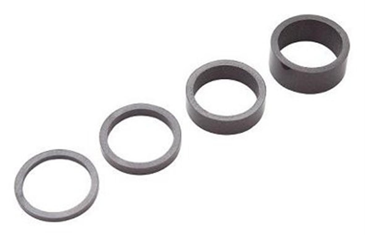 PRO Podkładki pod stery karbonowy / Materiał: carbon PRAC0004
