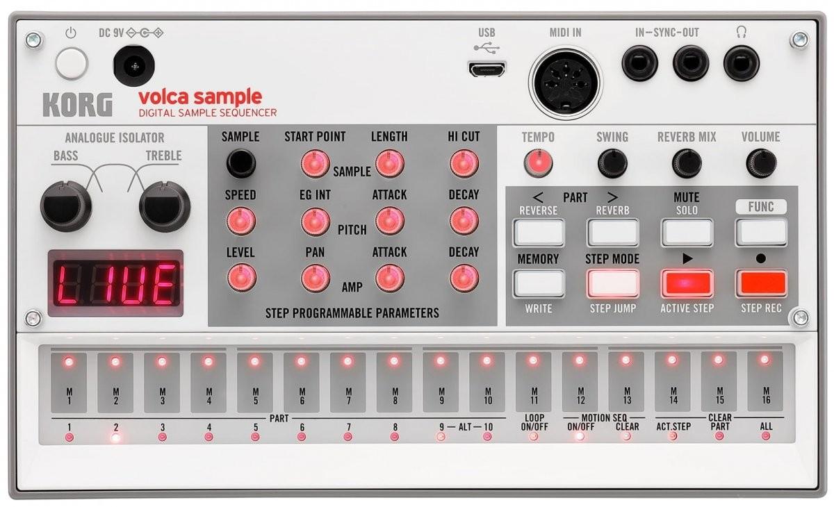 Korg Volca Sample 2 sampler z analogowym izolatorem i portem USB
