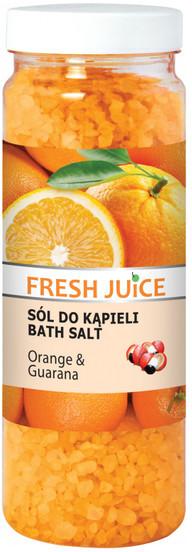 Fresh Juice orange & guarana sól do kąpieli 700g