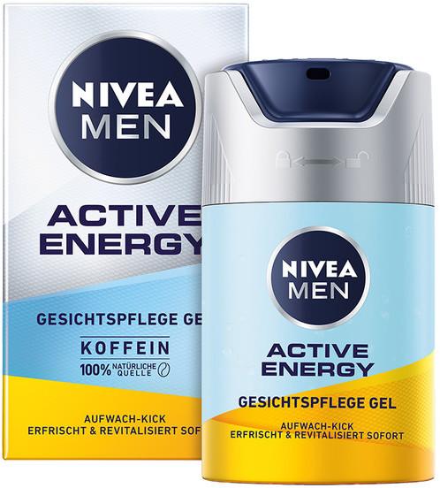 Nivea Nivea Men Active Energy energetyzujący Krem-żel do twarzy 50ml