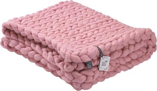 We Love Beds Pled Chunky różowy 5902409733105