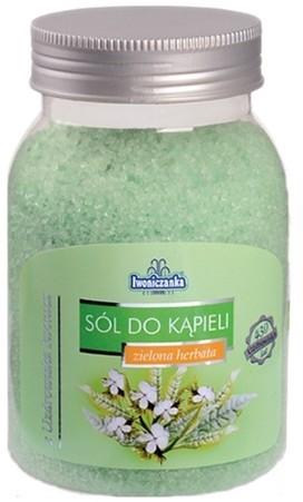 Iwoniczanka Sól do kąpieli zielona herbata 600g 405