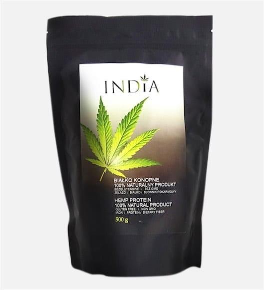 India Cosmetics Białko konopne 500 g