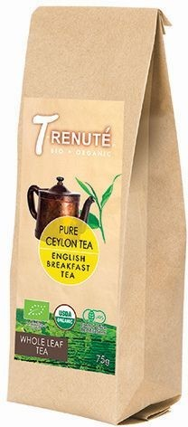 HERBATA CZARNA ENGLISH BREAKFAST BIO 75 g - TRENUTE