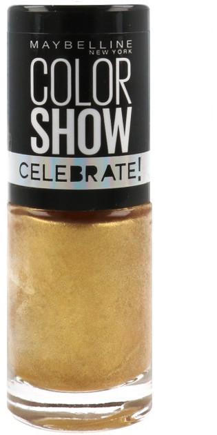 Maybelline Color Show Seria Celebrate Lakier Do Paznokci 108 Golden Sand 30118782