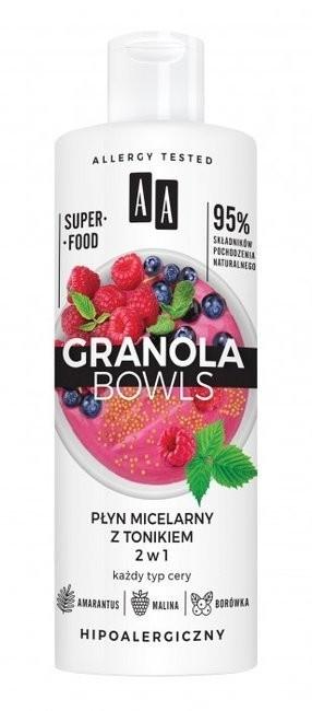 Oceanic Granola Bowls płyn micelarny z tonikiem 2w1 400ml 52721-uniw
