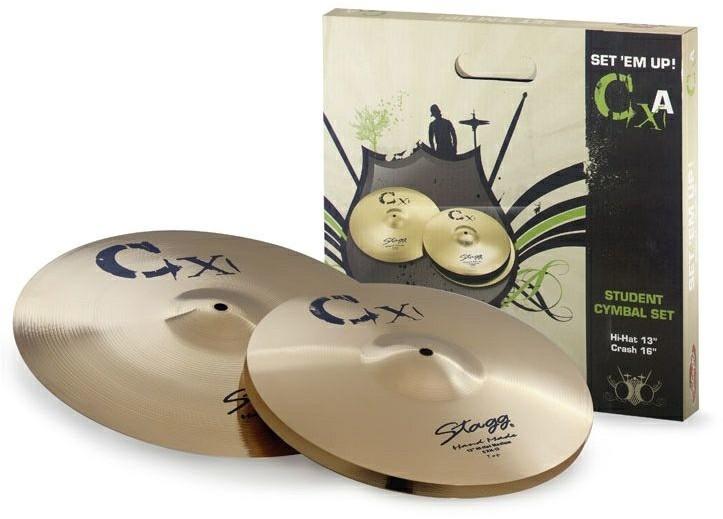 Stagg CXA SET - zestaw talerzy perkusyjnych 83460