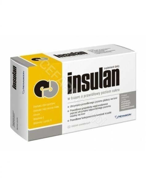 Novascon Insulan 60 szt.